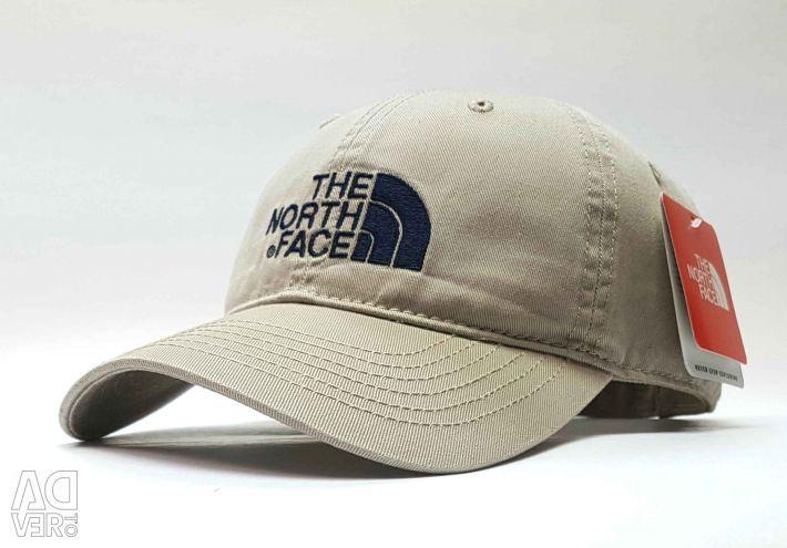 Бейсболка кепка The North Face  (бежевый)