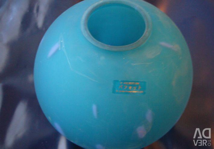 Βάζο-μπάλα. Γυαλί Ιαπωνία