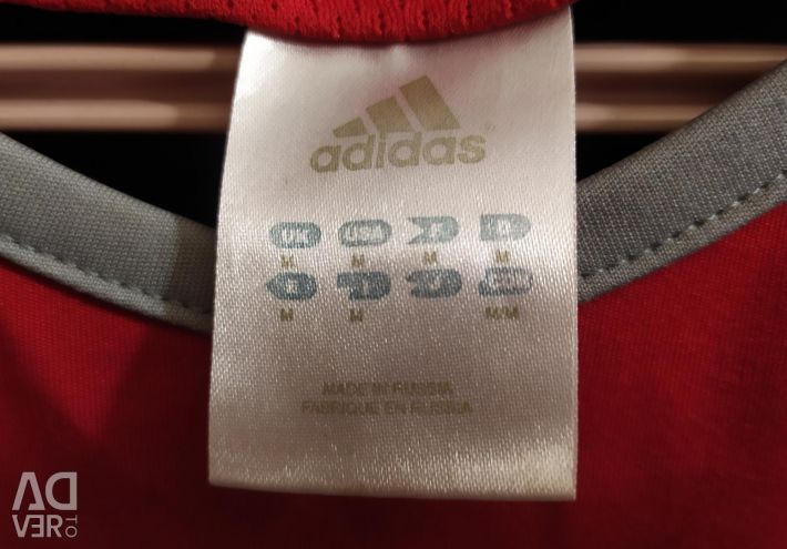 T-shirt by Adidas Red