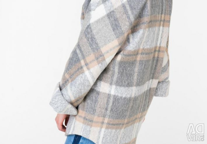 New poncho-shaped coat Electrastyle 44-52r.