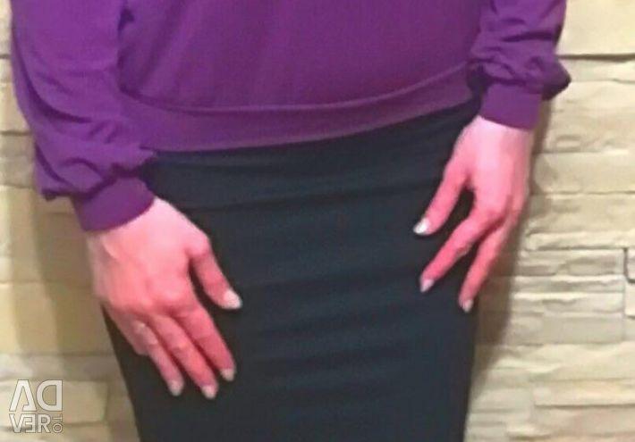 Μπλούζα με κεντήματα 46 μ