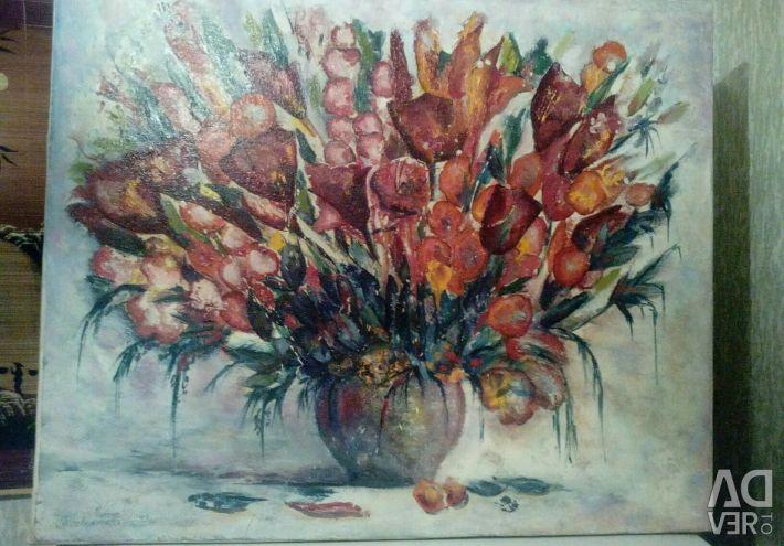 Oil painting canvas 50 * 60cm