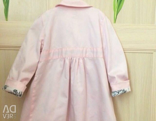 Stylish cloak and dress for girls 4-5 years old