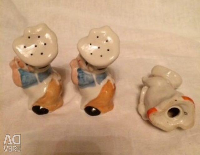 Saltcellar porcelain vintage