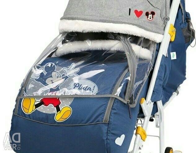 Αμαξάκι μεταφοράς Disney μωρό 2