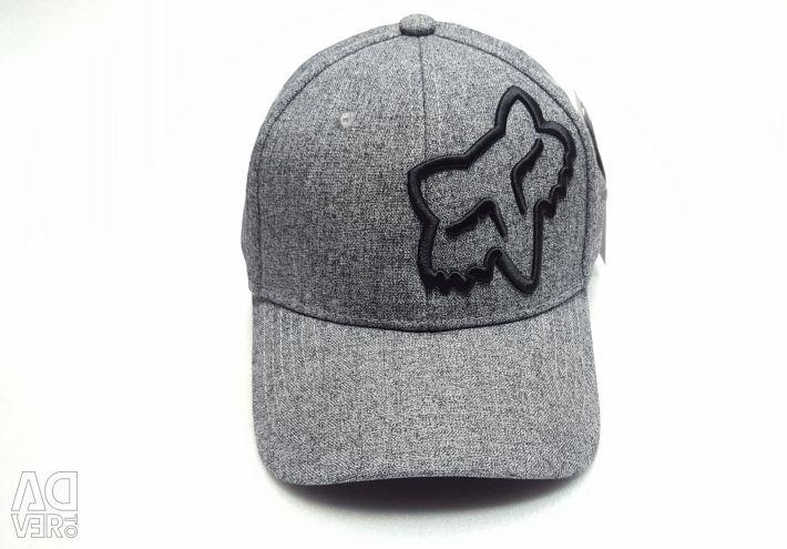 Fox baseball cap (gray) flexible