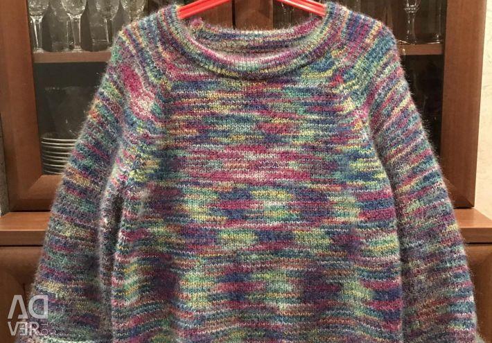 Warm blouse for pregnant women 44-46