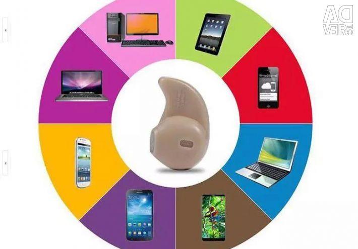 Mini Bluetooth headset for mobile phone.