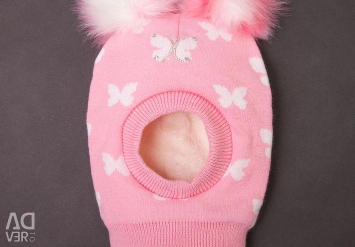 Cap-helmet for girls