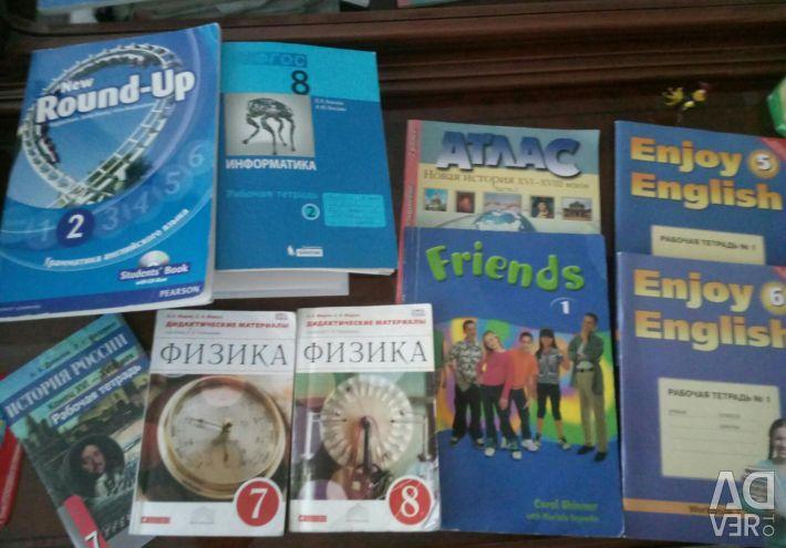 Workbooks, atlas new story