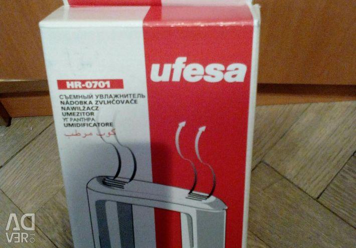 Radiant humidifier for radiator