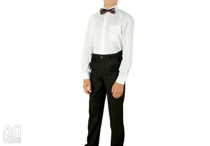 School classic trousers p. 170 and 176