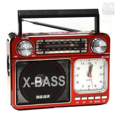 Радиоприемник meier M-U35 microSD USB FM