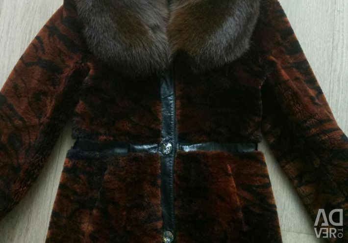 Mouton coat