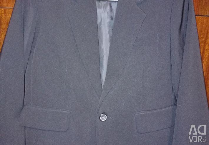Пиджак на мальчика, цвет чeрный