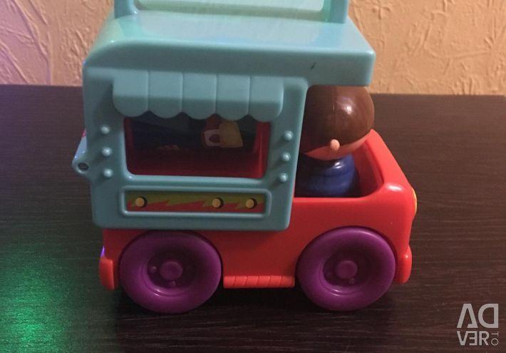 Playscool kamyon kat ve rulo