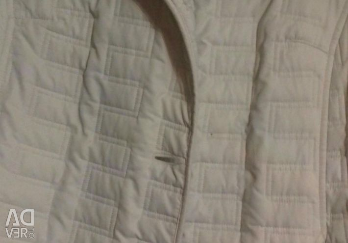 Quilted jacket on fleece (demi) p.52