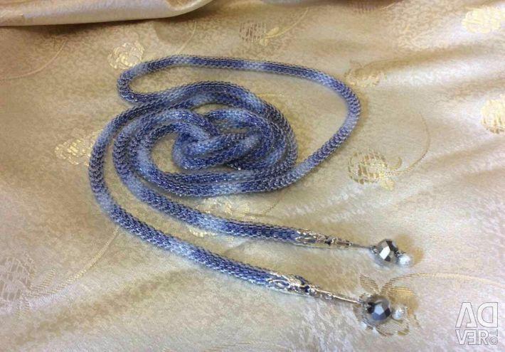 Plait of Czech beads