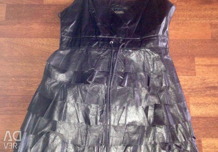 Φόρεμα 100% δέρμα