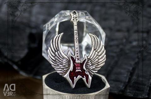 Κρεμαστό κιθάρα με σμάλτο κοσμημάτων