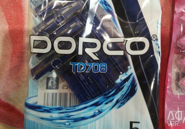 Ανδρικά και θηλυκά μηχανήματα μιας χρήσης DORCO