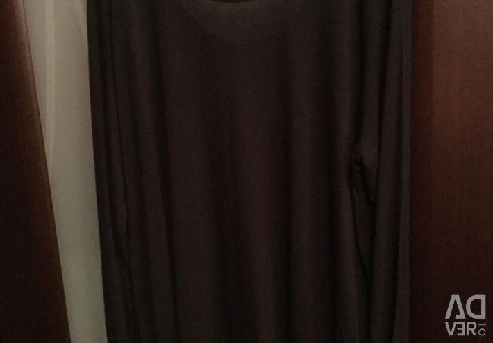 Γυναικείο μπλουζάκι με μέγεθος 54-56 με μακρύ μανίκι