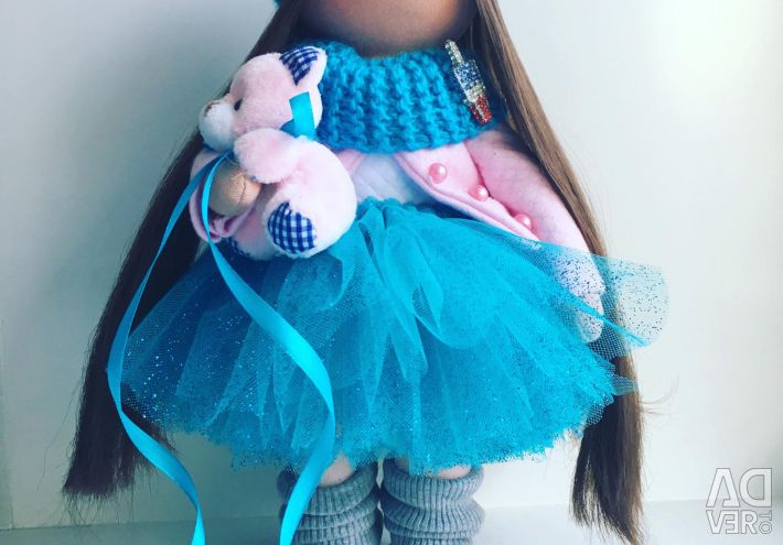 Doll on hand
