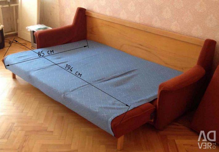 Sofa sliding