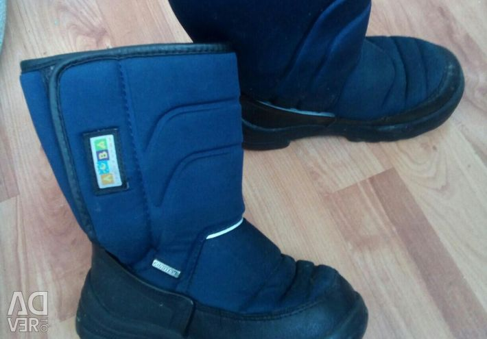 Winter boots 18 cm on the insole