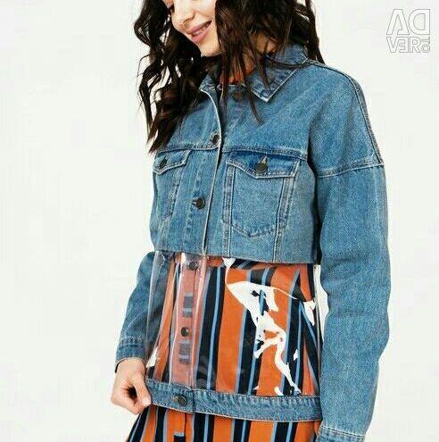 Куртка джинсова нова