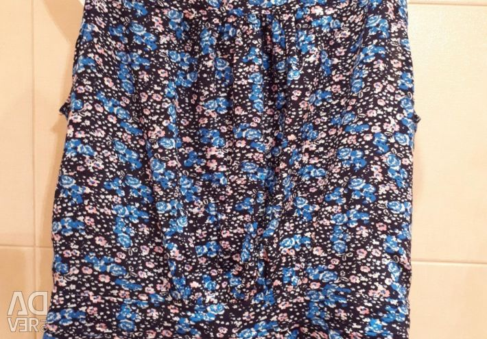 Bluză sub cardigan sau cardigan.