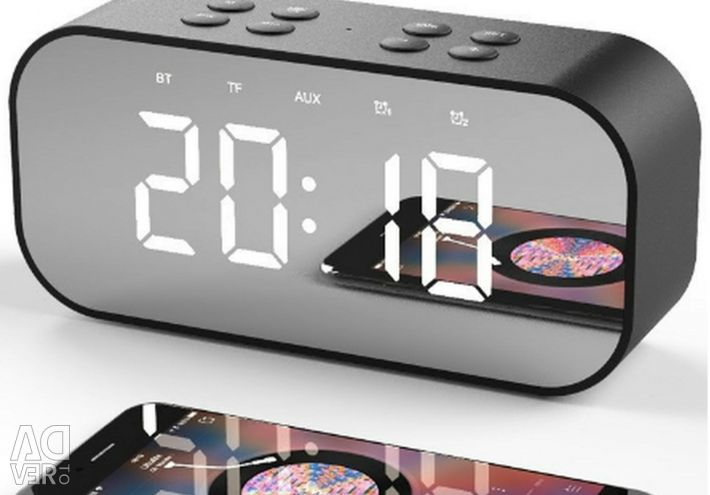 🔥 Bluetooth 5.0 Стерео Колонка Годинники AEC BT501 5W