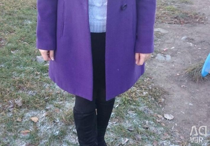 Coat cashmere by Silvian Hitch