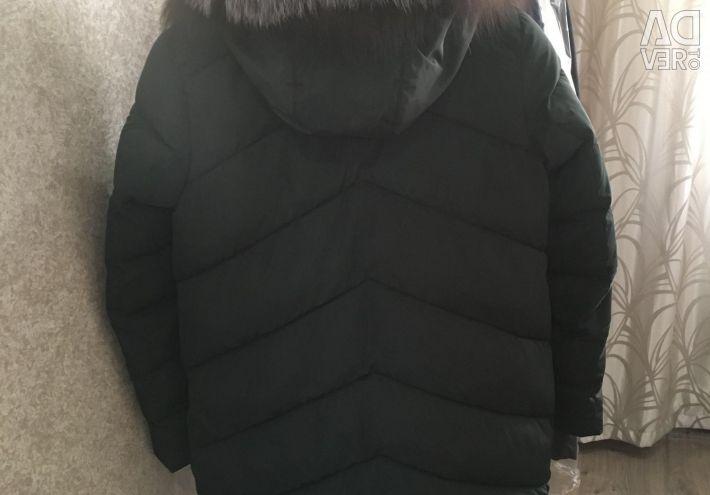 Jachetă în jos pentru femei 42-44