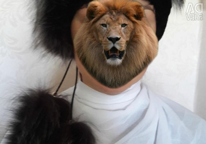 Hat - real fur
