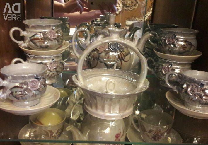 Bargain. 2 in 1 Ceramic set. 22 items