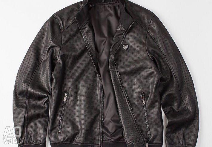 Куртка Armani шкіряна
