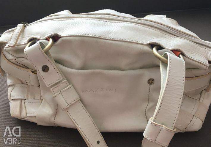 Leather bag Mazzini