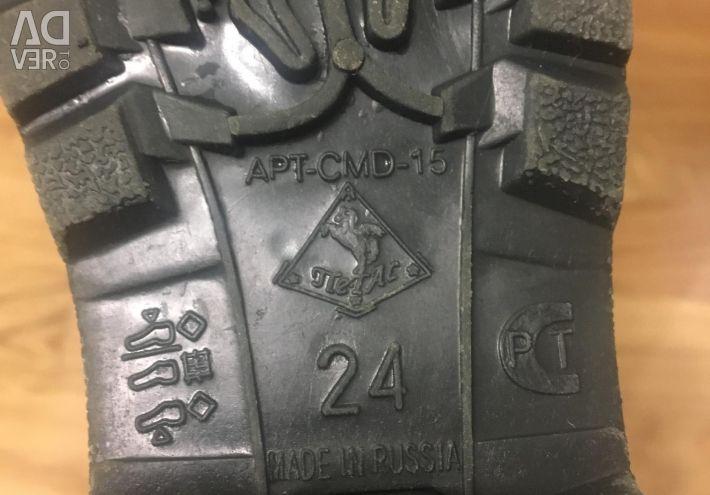 Καουτσούκ μπότες, 24 μέγεθος