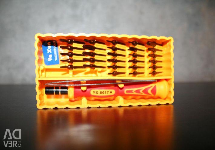 Ένα σετ κατσαβιδιών για επισκευή Ya Xun YX-8017A Νέα