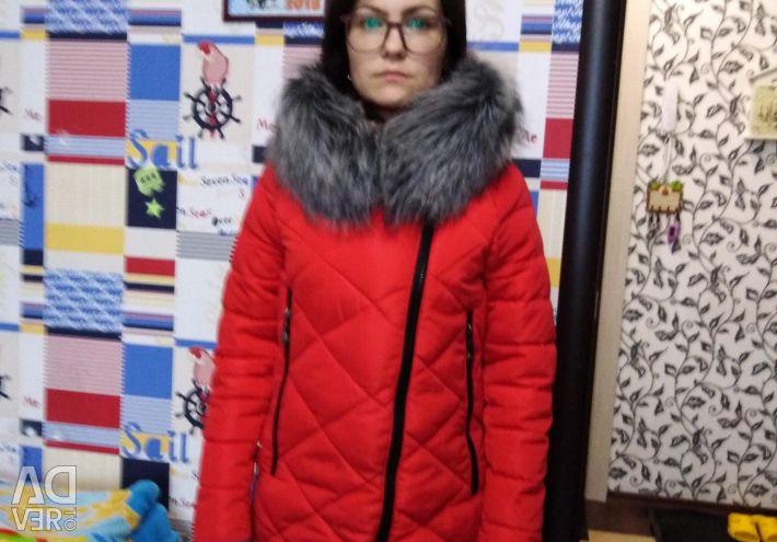 Demi-season down jacket