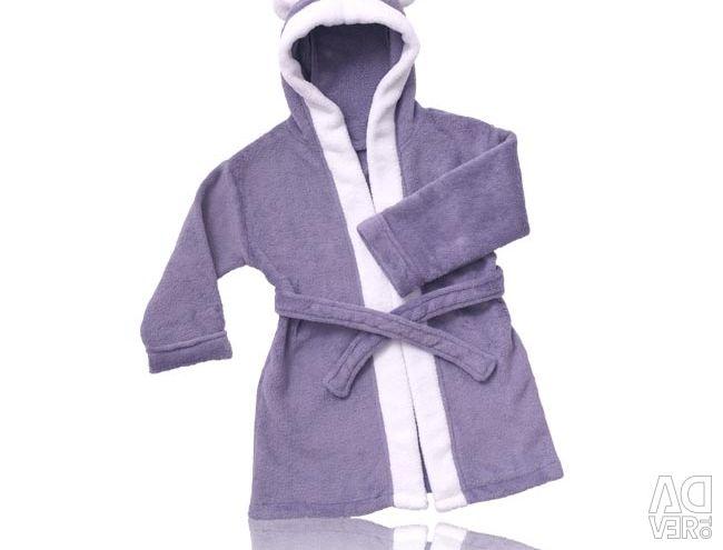 Slippers and bathrobe