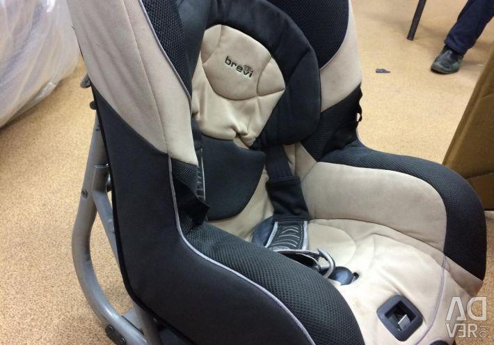 Дитяче автомобільне крісло Brevi до 18 кг
