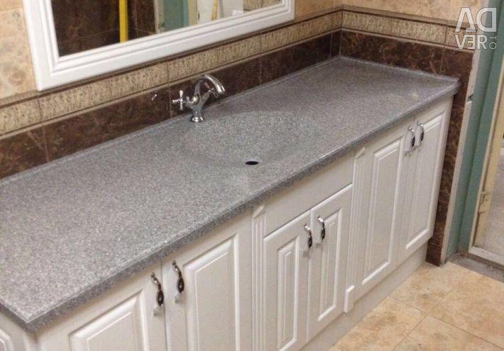 Artificial stone washbasins