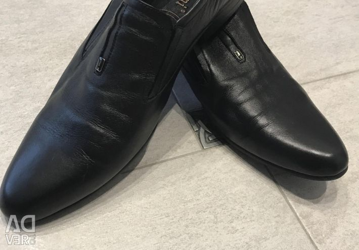 Shoes. Genuine Leather.