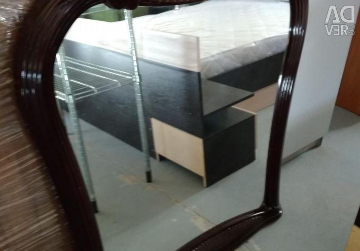 Used frame mirror