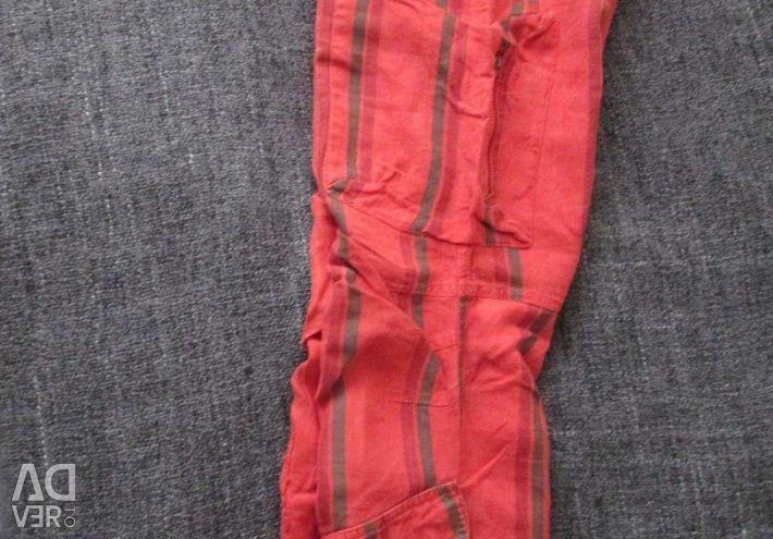 Льняные брюки (Турция) размер S