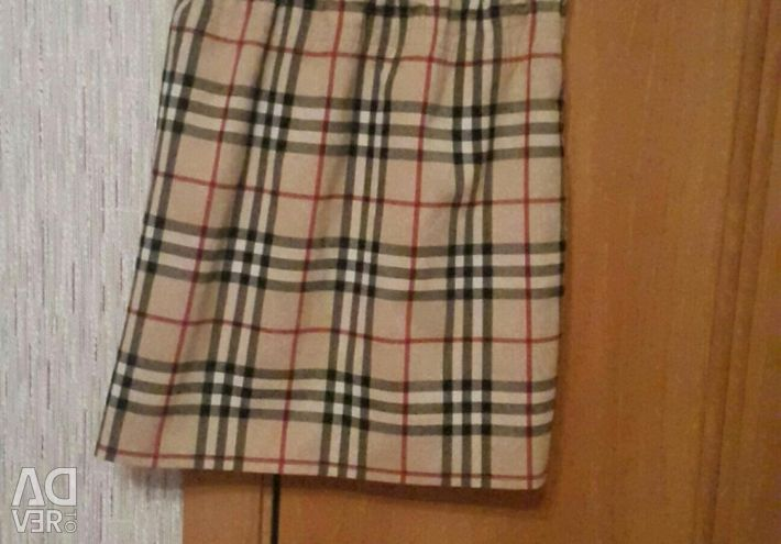 The skirt in the style of beubery