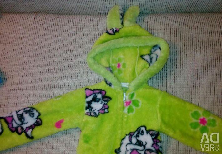 Dressing gown for children 80-86