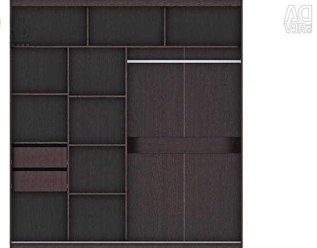 Sliding wardrobe 2000х600х2200 mm